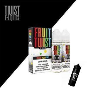 Twist E-Liquids - Fruit Twist - Tropical Pucker Punch