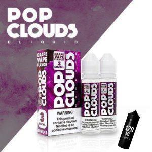 Pop Clouds E-Liquid - Grape